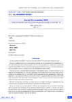 Accord 24 novembre 2020 relatif au dispositif spécifique d'activité partielle de longue durée (APLD)