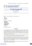 Accord du 10 novembre 2020 relatif au temps partiel