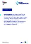 Rapport relatif au référencement du Cadre national français des certifications professionnelles au Cadre européen des certifications pour l'apprentissage tout au long de la vie et à l'auto-référencement du Cadre français de certification de l'enseignement supérieur au Cadre général des certifications pour l'espace européen de l'enseignement supérieur