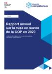 Rapport annuel sur la mise en œuvre de la COP en 2020 - Convention d'Objectifs et de Performance de France compétences