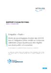Enquête « flash ». Points de vue et logiques d'action des OF/CFA face à l'obligation d'être certifié sur la base du référentiel unique Qualité pour être éligible aux fonds publics et mutualisés. Rapport d'analyse final. Version 2