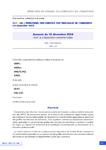 Avenant du 16 décembre 2020 relatif aux dispositions conventionnelles