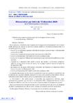 Dénonciation par lettre du 15 décembre 2020 de la FMB d'accords et d'avenants