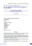 Accord du 10 février 2021 relatif aux instances paritaires de branche