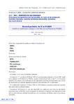 Accord paritaire du 8 avril 2021 relatif à la modification anticipée d'une fiche de qualification du RNQSA