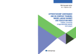 Apprenticeship governance and in-company training : where labour market and education meet: Cedefop community of apprenticeship experts : short papers