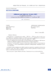Adhésion par lettre du 12 mars 2021 du CNADEV et de la FIA à l'accord du 29 mai 2015 et à l'avenant n° 1 du 25 avril 2017