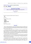Accord du 9 avril 2021 relatif au dispositif d'activité partielle de longue durée (APLD)