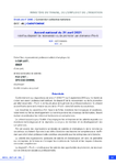 Accord national du 21 avril 2021 relatif au dispositif de reconversion ou de promotion par alternance (Pro-A)