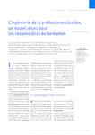 L'ingénierie de la professionnalisation, un nouvel enjeu pou - application/pdf
