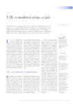 VAE et modernisation sociale