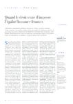 Quand le droit tente d'imposer l'égalité hommes-femmes - Rou - application/pdf