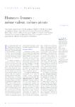Hommes-femmes même valeur, mêmes atouts - Lévy - Fabienne - - application/pdf