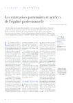 Les entreprises partenaires et actrices de l'égalité profess - application/pdf