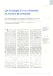Les échanges franco-allemands en matière de formation - Rous - application/pdf