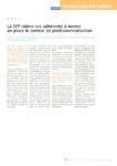 La FFP aidera ses adhérents à mettre en place le contrat de professionnalisation