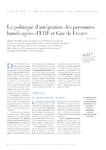 La politique d'intégration des personnes handicapés d'EDF et Gaz de France