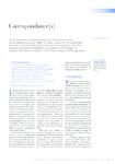 Correspondances(s)