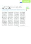 Les Carif-Oref préparent leur évolution pour 2007-2013 - Gau - application/pdf