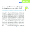 L'avant-projet de loi sur la modernisation du dialogue socia - application/pdf