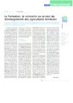 La formation, la recherche au service du développement des a - application/pdf