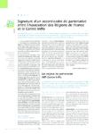 Signature d'un accord-cadre de partenariat entre l'Association des Régions de France et le Centre Inffo