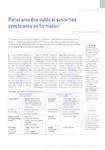 Panorama des outils et systèmes synchrones en formation
