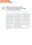 Alstom Power Service renforce sa capacité de formation avec l'Afpa et lui ouvre l'international
