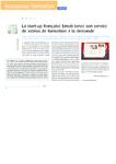 La start-up française Emob lance son service de vidéos de fo - application/pdf