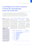 Les politiques des Conseils régionaux en faveur de l'apprent - application/pdf