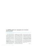 """Le CNFPTLV publie une """"géographie de la formation professionnelle"""""""