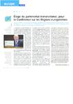 Eloge du partenariat transnational, pour la Conférence sur l - application/pdf