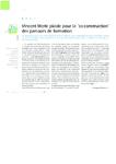 """Vincent Merle plaide pour la """"co-construction"""" des parcours - application/pdf"""