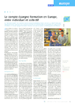 Le compte épargne formation en Europe, entre individuel et c - application/pdf