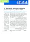 """Les dispositifs de la réforme de 2004 ont """"réellement démarré"""", selon la DGEFP"""