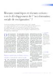 Réseaux numériques et réseaux sociaux vers le développement - application/pdf