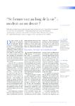 """""""Se former tout au long de la vie"""" un droit ou un devoir ? - - application/pdf"""