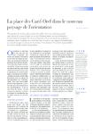 La place des Carif-Oref dans le nouveau paysage de l'orienta - application/pdf