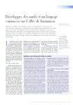 Développer des outils et un langage commun sur l'offre de fo - application/pdf