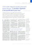 Le Service public régional de la formation professionnelle de Poitou-Charentes