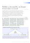 Mobilités professionnelles un domaine d'intervention transve - application/pdf