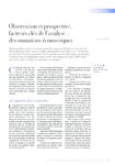 Observation et prospective, facteurs clés de l'analyse des m - application/pdf