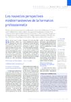 Les nouvelles perspectives méditerranéennes de la formation professionnelle